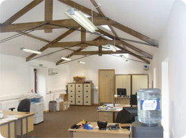 electrical installation in offices
